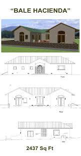 Straw Bale Floor Plans Bale Hacienda