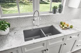 Blanco 401682 Precis U 1 3 4 Double Bowl Undermount Kitchen Sink
