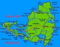 map of st martin st martin st maarten map gallery general island map beaches