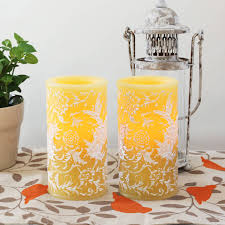 Electric Candles For Windows Decor Flameless Candles With Timer Lantern Candles Decoration
