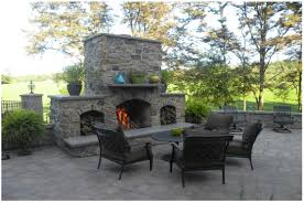 backyards excellent outdoor fireplace in handcrafted stone