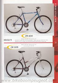 peugeot mountain bike peugeot 1996 germany brochure