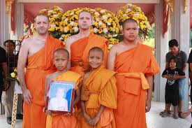 ordaining as a novice monk u2014