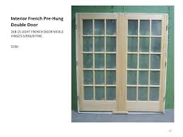 15 light french door 15 light interior door single x light interior french door with