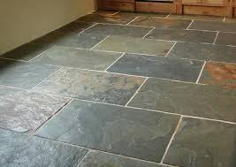 slate flooring great look variegated color