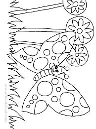 black white drawing garden coloring children kids