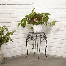 Planter With Legs by Amazon Com Amagabeli Metal Potted Plant Stand 15 Inch Rustproof
