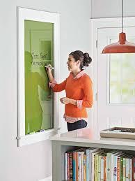 tableau verre transparent pour ecrire comment fabriquer un tableau de marqueurs effaçables trucs et