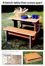 Free Folding Picnic Table Plans Portable Picnic Table Plans