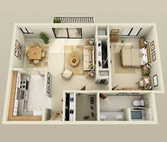 plan chambre plan 3d appartement 1 chambre 25