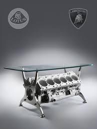 bespoke formula 1 lamborghini engine block table lamborghini