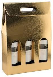 gift packaging for wine bottles 10 5 8 in x 3 1 2 in x 16 in italian 3 bottle carrier