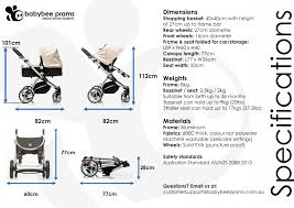 frequently asked questions babybee prams