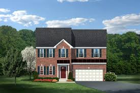 Who Decorates Model Homes New Rome Home Model For Sale At Fairwood In Bowie Md