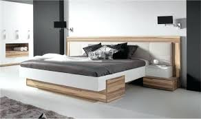 fly chambre adulte lit bois design adulte 2 places avec tate de lit large capitonnace