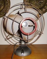 vintage metal fan vintage westingefouse fan vintage desk fan 1950 s westinghouse 1950s osillating