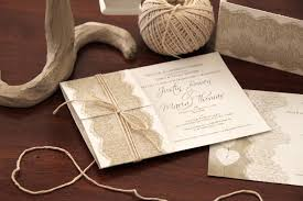 Wedding Invitations With Pictures Wedding Invitations With Lace The Design And Decoration Of Lace