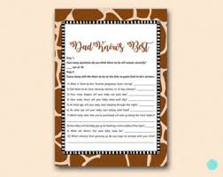 who knows best baby shower knows best etsy