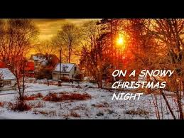 snowy christmas pictures elvis presley on a snowy christmas night hd youtube