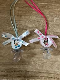 mickey baby shower pacifier favors set of 12 minnie baby shower