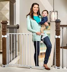 Baby Gate For Top Of Stairs With Banister And Wall Top 10 Best Baby Gates Money Can Buy
