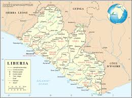 Virginia Map With Cities And Towns by List Of Cities In Liberia Wikipedia