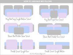 bedding throw pillows king bed pillow arrangement ideas www meadowlakeroad com diy