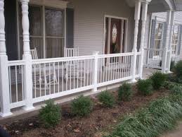 Home Design Front Gallery Front House Railing Design And Concrete Patio Gallery Images