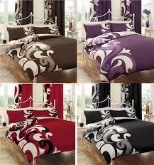 Curtain And Duvet Sets Bed Pack With Matching Curtains U0026 Duvet Cover Sets Ebay