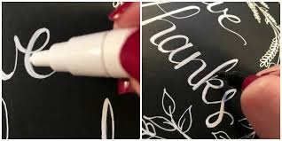 thanksgiving chalkboard tutorial