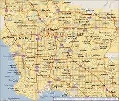 Los Angeles Map Pdf Map Of Los Angeles California Vacations Travel Map Holiday