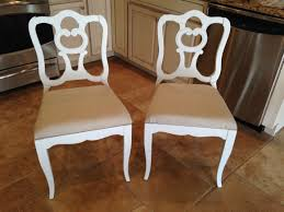 Covering Dining Room Chairs Reupholster Dining Room Chairs With Notched Corners Reupholster