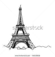 royalty free eiffel tower a blue watercolor u2026 525379663 stock