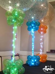 party decoration gallery balloon columns columns and rice