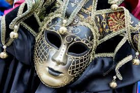 carnival masks for sale venice italy january 31 2016 traditional carnival masks for