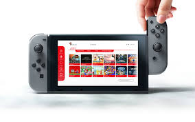 nintendo switch unofficial visual identity on behance