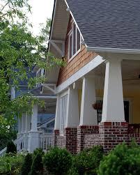 front porch column ideas exterior craftsman with arts crafts