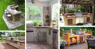 outdoor kitchen cabinet doors diy 27 best outdoor kitchen ideas and designs for 2021