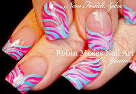 nail art easy spring nails design for beginners easter zebra