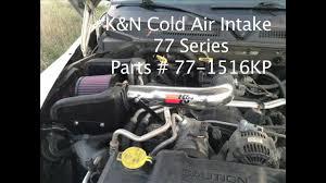 cold air intake for dodge ram 1500 4 7 2004 dodge dakota k n cold air intake before after