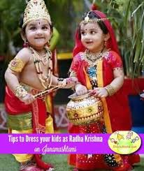 Krishnashtami Decoration Tips To Dress Your Babies Kids As Krishna Radha For Janmashtami