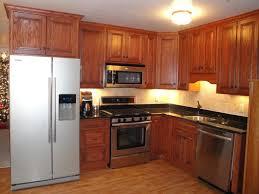 kitchen oak kitchen cabinets inside pleasant oak kitchen