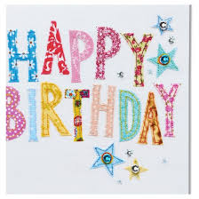 papyrus happy birthday stitching birthday card target