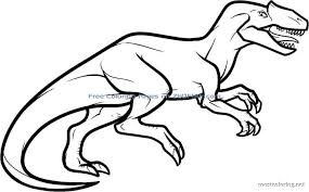 dinosaur coloring pages allosaurus coloring pages printable