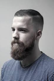 simple hairstyle for short hairstyles with beard short hair with