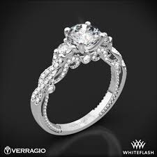 verragio wedding rings verragio braided 3 engagement ring 1995