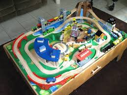 Thomas The Train Play Table Wooden Train Sets With Table Wooden Train Table For Kids U2013 Home