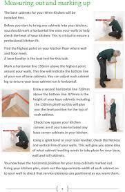how to fit wren kitchen base units wren kitchens installation tips carefully check your kitchen