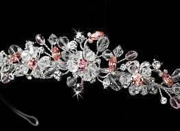 bridal tiara swarovski vine bridal tiara bridal hair accessories