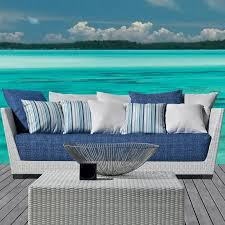 inout 503 poly rattan outdoor sofa gervasoni ambientedirect com